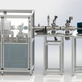 Highly adaptable D.I.S ion irradiation and test facility for the characterization of ion sources, ion optics, ion diagnostics as well as ion analytics.